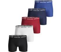 Boxershorts 5er-Pack Solids