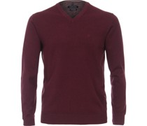 Pullover Bordeaux Rot