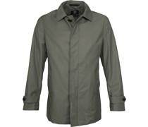 Coat Rosewood Mid Green