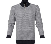 Baumwolle Pullover Half Zip
