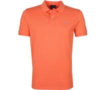 Basic Polo Orange