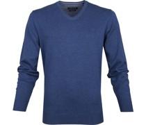 Pullover Mittelblau