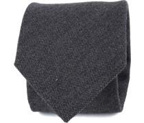 Krawatte Dunkelgrau