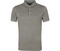 Prestige Melange Polo Shirt Olivgrün