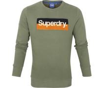 Sweater Workwear Dunkelgrün