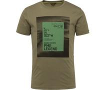 T-Shirt 214552 Jersey Dunkelgrün