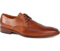 Schuh Cognac-Braun Leder