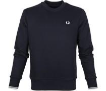 Sweater Logo Dunkel Blau