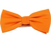 Fliege Seide Orange