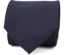 Krawatte Navy Seide