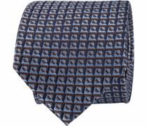 Krawatte Blöcke Blau