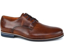 Schuh Braun Cognac Leder
