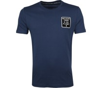 Natal T-Shirt Dunkelblau