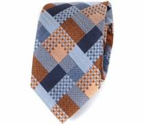 Krawatte Seide Orange