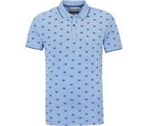 Poloshirt Fox Blau