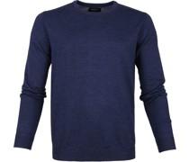 Pullover O-Ausschnitt Blau