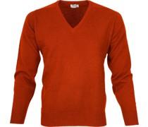 Pullover V Lammwolle