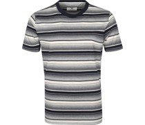 T-shirt Akrod Streifen Navy