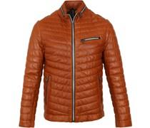 Damiano Leather Orange Jacke