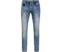 Seaham Jeans Melange Indigo
