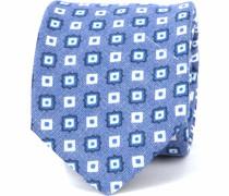 Progetto Krawatte Square Blau