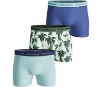 Shorts 3er-Pack Palmstripe