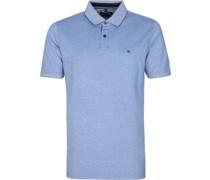Poloshirt Stretch Blau