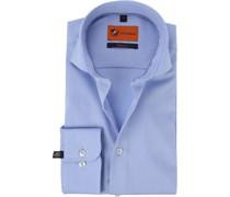 Hemd SL7 Twill Blau