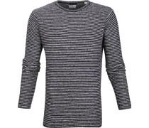 Pullover Knit Dunkelblau