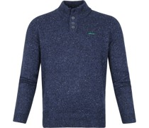 (NZA) Hine Rere Mocker Pullover Blau