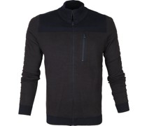 Zip Jacket Dunkelblau