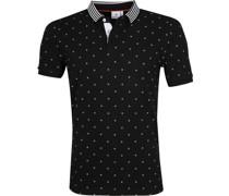 Poloshirt Design Zwart