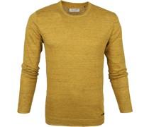 Pullover Mischen Schwarz Gelb
