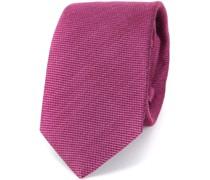 Krawatte Tussahseide Rosa