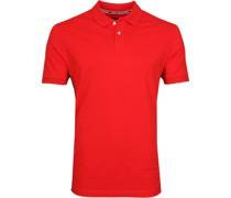 Poloshirt Zenith Rot