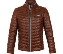 Damiano Leather Cognac Jacke