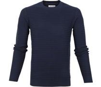 Pullover Rib Navy