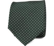 Krawatte Seide Grün F91-9