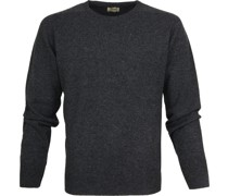Pullover O Charcoal Anthrazit