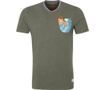 (NZA) Te Arai T-Shirt Army Grün