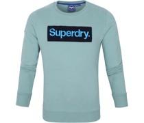 Sweater Workwear Hellblau