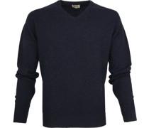 Pullover V Midnight Navy