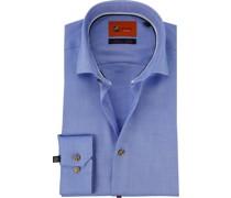 Hemd Oxford Roy Blau