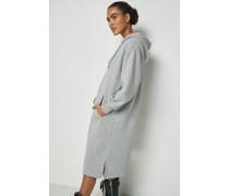 100% Recycled Hoodie Midi Dress