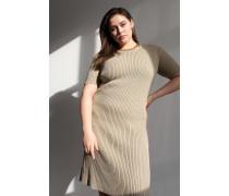 100% Recycled Half Sleeve Midi Dress