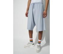 100% Organic Raw Hem Loose Fit Lounge Shorts