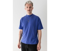 Mock Neck Relaxed T-shirt