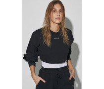 100% Recycled Extreme Cropped Sweatshirt