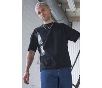 100% Recycled Glitch Oversized T-shirt