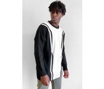 Contrast Longline Sweater